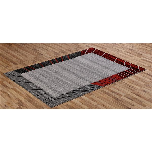 Segma Sahara 8-ft x 11-ft Grey Abri Area Rug