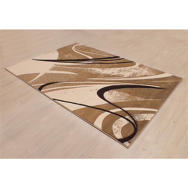 Tapis Reflections, 8'x11', beige
