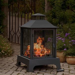 Sunjoy Pineville Fireplace - 43