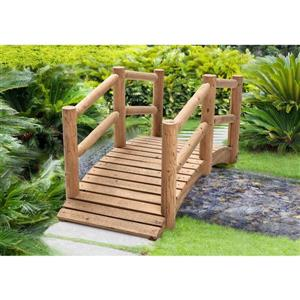 Pont de jardin en bois Sunjoy, 62