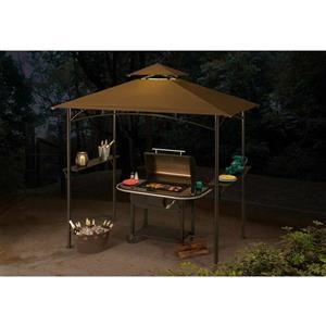 Abri-soleil pour barbecue Inca de Sunjoy, 8 pi, noir