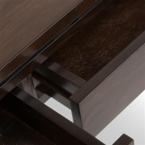 Table-console Cosmopolitan, brun café