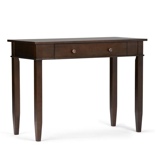 Carlton Tobacco Brown Home Office Desk