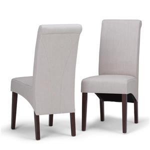 Chaises de salle à manger Avalon, 2 mcx, naturel