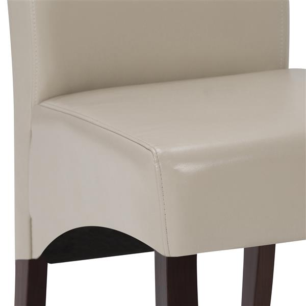 Simpli Home Avalon Cream Dining Chairs (Set of 2)