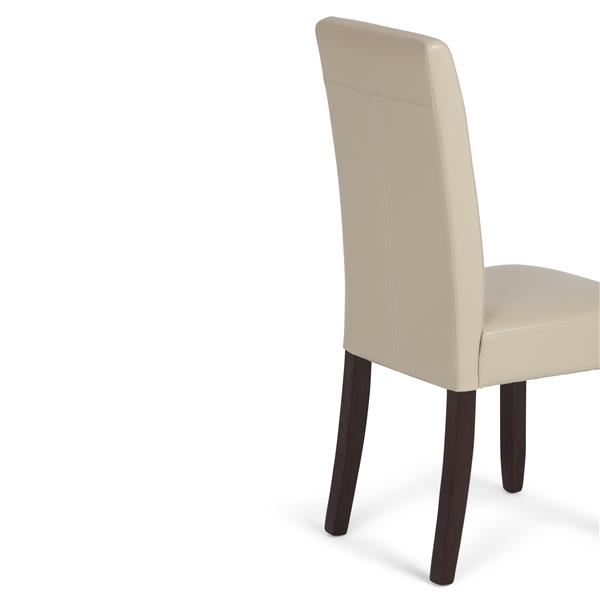 Simpli Home Acadian Cream Dining Chairs (Set of 2)