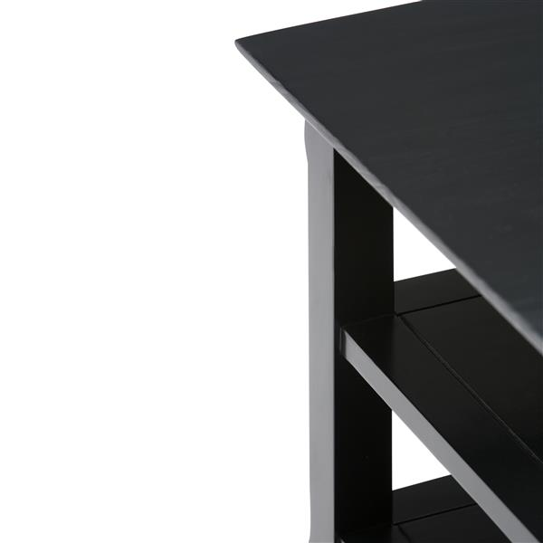 Table d'appoint Acadian, noir