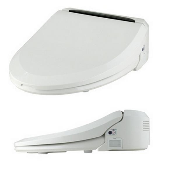 Clean Touch White Elongated Bidet Toilet Seat