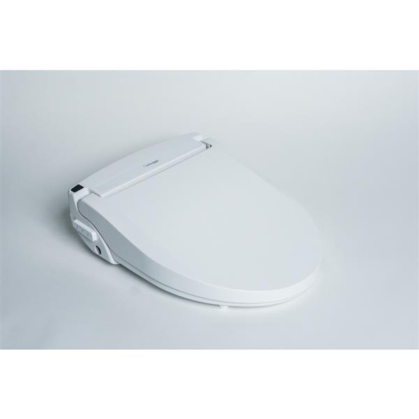 Siège de toilette Clean Touch électronique, allongé, blanc