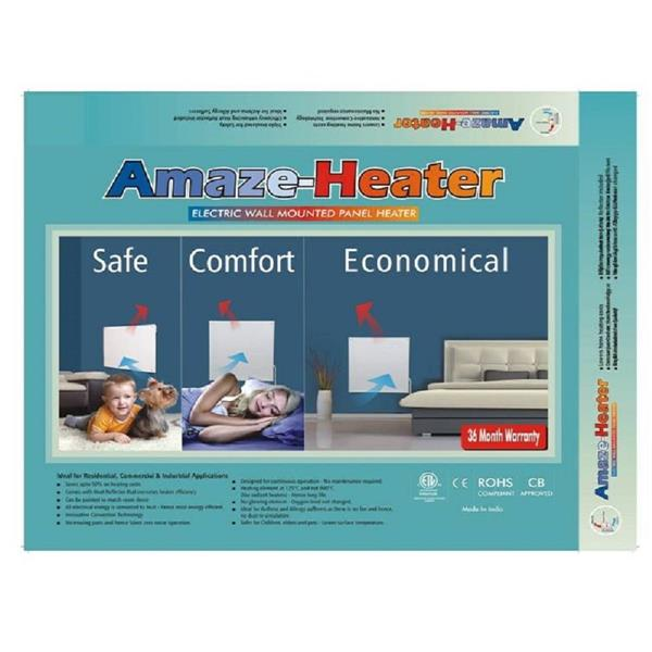 Amaze Heater 400-Watt Ceramic Electric Wall Mounted Heater