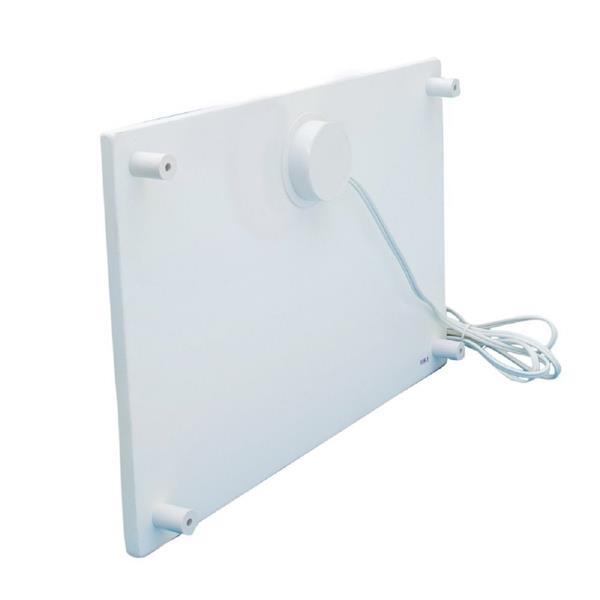 Radiateur électrique mural pour bureau, 100 W, 50 pi3
