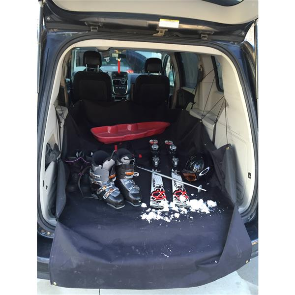 Revêtement coffre de voiture, VUS, petit, 86 x 107 x 38 cm