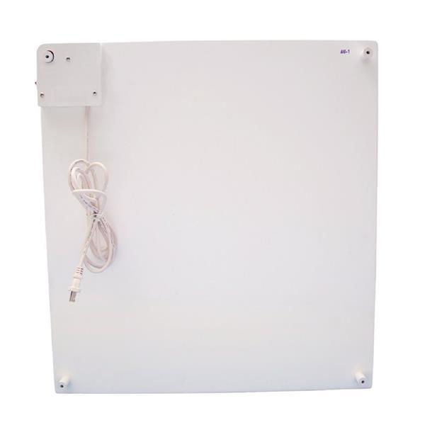 Amaze Heater 400-Watt Ceramic Electric Panel Room Heater With Thermostat