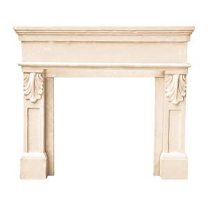 Paris Fireplace Mantel - Ivory