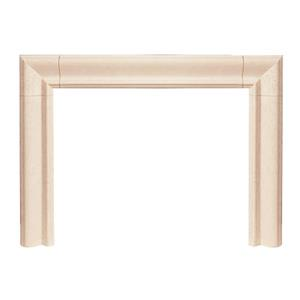 Builder Estate Fireplace Mantel - Ivory