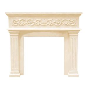 Historic Mantels Limited Michael Angelo Fireplace Mantel Ivory