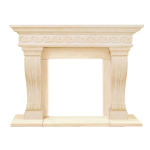 Historic Mantels Limited Sierra Fireplace Mantel Ivory
