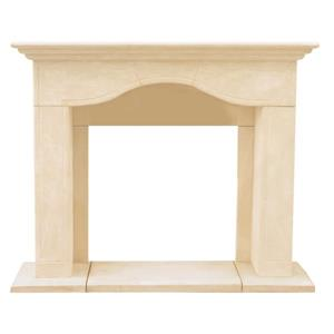 Historic Mantels Limited Chateau Marissa Fireplace Mantel Ivory