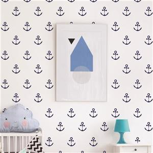Peel and Stick Wall Decal - Anchors Aweigh
