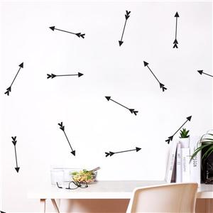 Cupidon 10-in x 1.50- in Peel and Stick Wall Decal