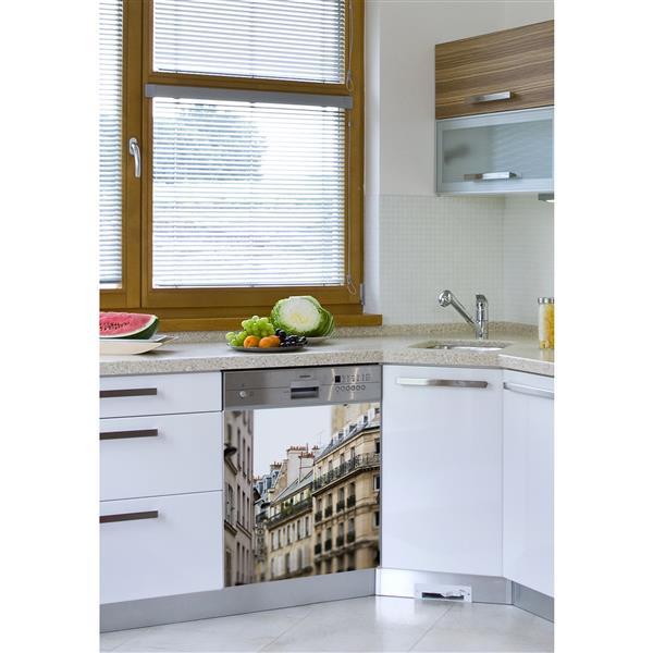 Appliqué autocollant pour lave-vaisselle, 5e arrondissement