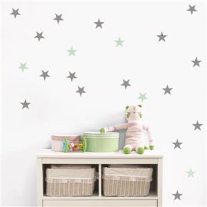 Star Rain 3- in x 3- in Peel and Stick Wall Decal