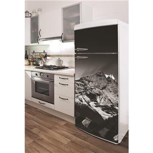 Himalayas Sunset 30- in x 70- in Peal and Stick Decal for Refrigerator