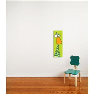 Duck Art for Kids 8-in x 24-in Canvas Wall Art