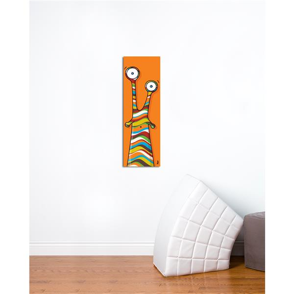 ADzif Chick Art for Kids  8-in x 24-in Canvas Wall Art