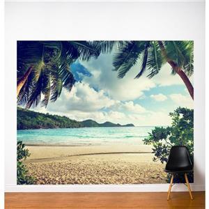 ADzif Fresh Foam 10-ft x 8-ft Multi Colour Adhesive Wallpaper