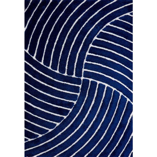 Segma Pandora 6-ft x 9-ft Blue Lucy Area Rug