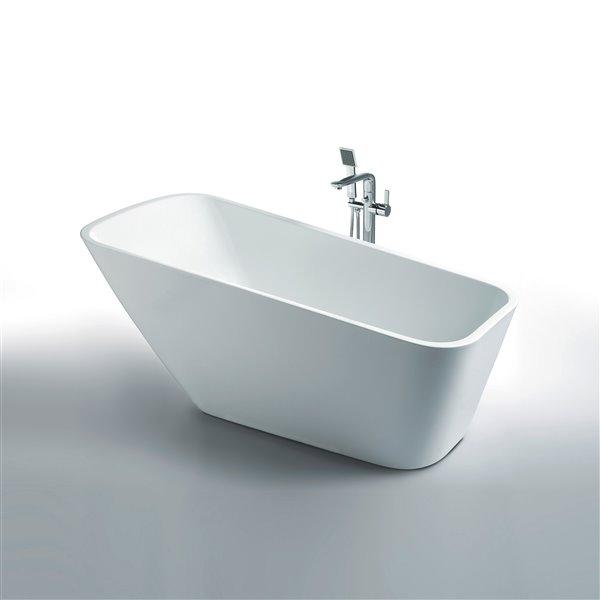 """Baignoire Athenes de Jade Bath, blanc, 67"""""""