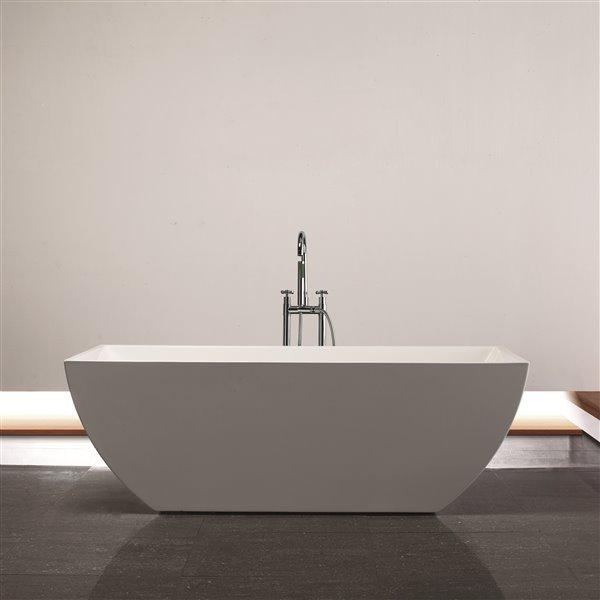 """Baignoire New Dawn de Jade Bath, blanc, 67"""""""