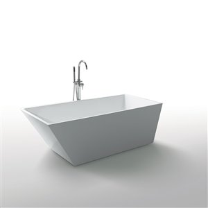 Baignoire Morning Star de Jade Bath, blanc, 59""