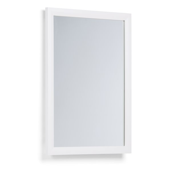 Simpli Home Urban Loft 22-in x 30-in Vanity Décor Off White Mirror