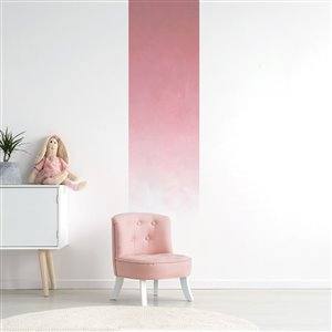 ADzif 2-ft x 8-ft Fading Rose Gradient Adhesive Wallpaper