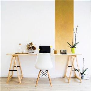 ADzif 2-ft x 8-ft Rising Sunflower Gradient Adhesive Wallpaper