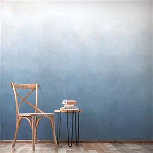 ADzif 10-ft x 8-ft Deep Ocean Blue Gradient Adhesive Wallpaper