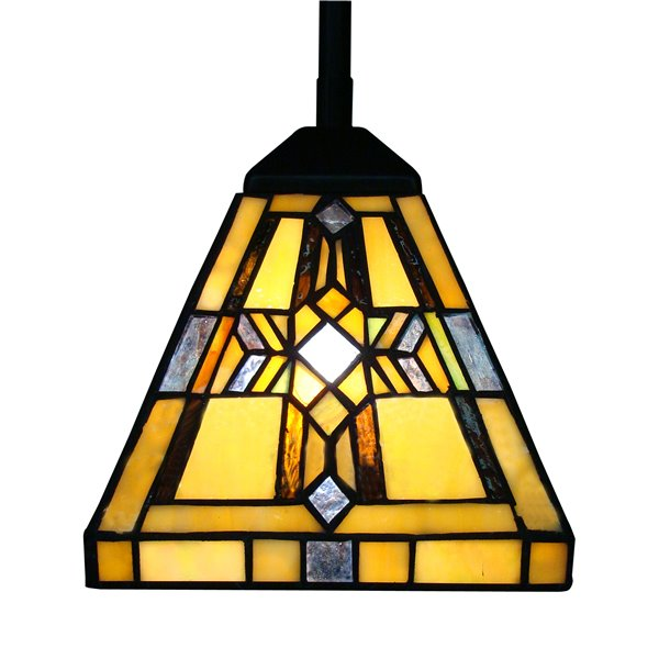 Luminaire suspendue de style Tiffany