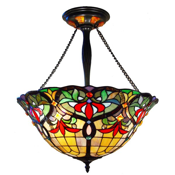 Fine Art Lighting Ltd. Tiffany-Style Hanging Light