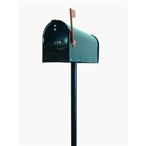 Fine Art Lighting Ltd. Black Standing Mailbox