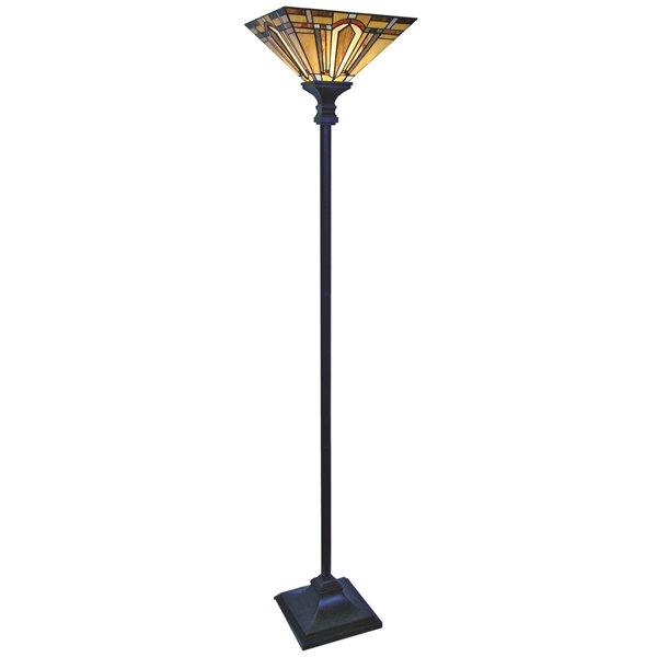Lampadaire de style Tiffany