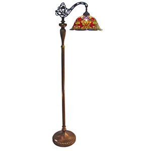 Fine Art Lighting Tiffany Style Floor Lamp