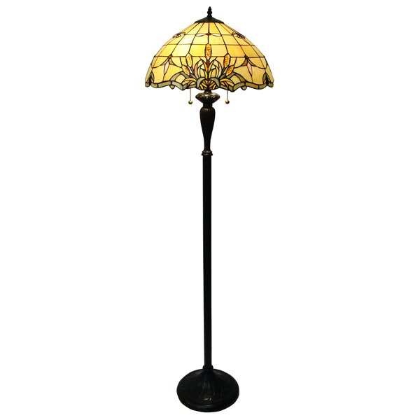 Fine Art Lighting Ltd. Tiffany Bronze Cattails Floor Lamp