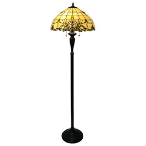 Fine Art Lighting Ltd. Tiffany Bronze Cattails Floor Lamp