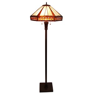 Fine Art Lighting Ltd. Tiffany Style Floor Lamp