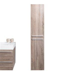 GEF Rosalie Linen Cabinet, Soft Oak