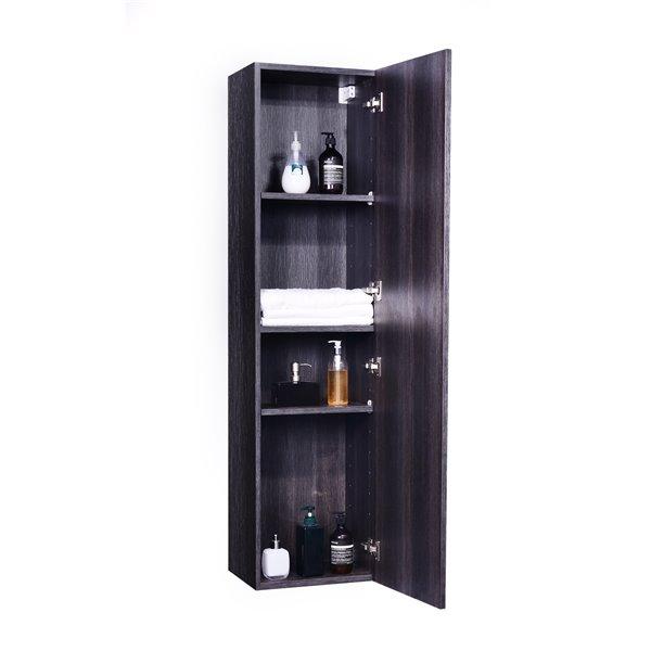 GEF Amira Linen Cabinet, Distressed Oak