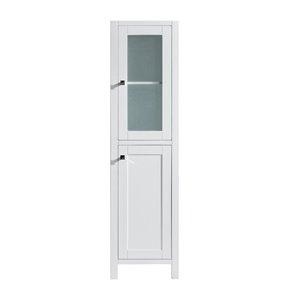 GEF Willow Linen Cabinet, White