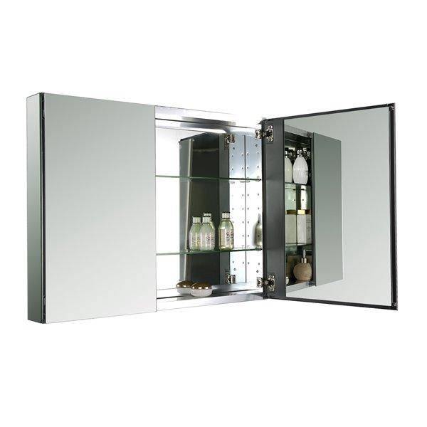 GE Avila Aluminum Medicine Cabinet, 40-in